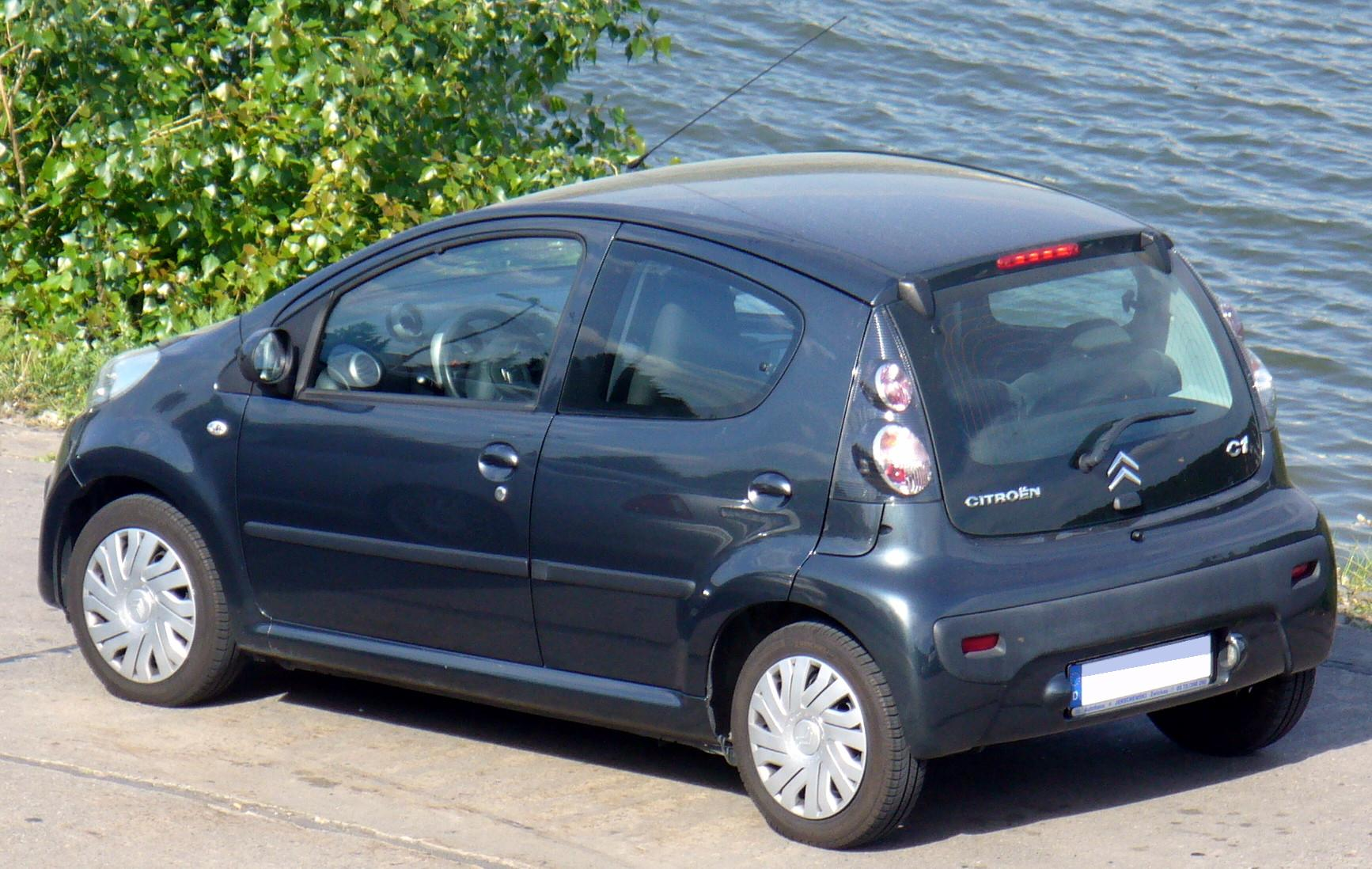 2007 Citroen C1 Partsopen